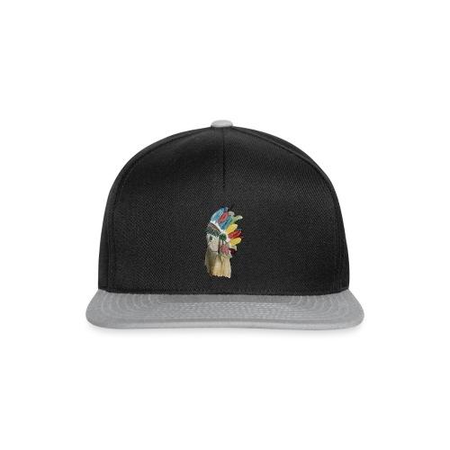 Indianermädchen - Snapback Cap