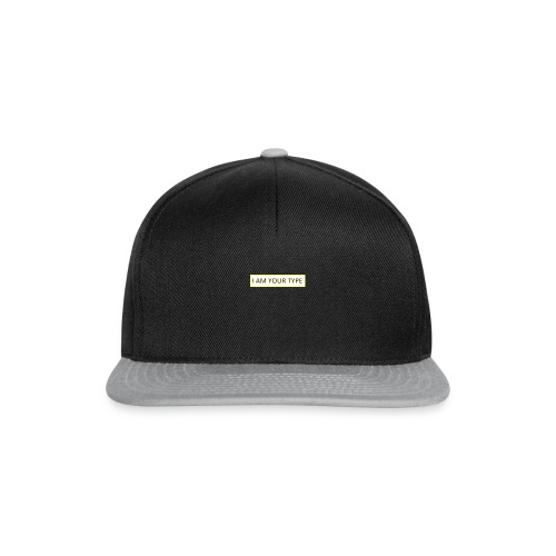 I AM YOUR TYPE - Gorra Snapback