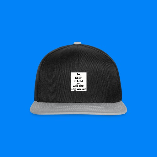 keep-calm-and-call-the-dog-walker--1-png - Snapback Cap