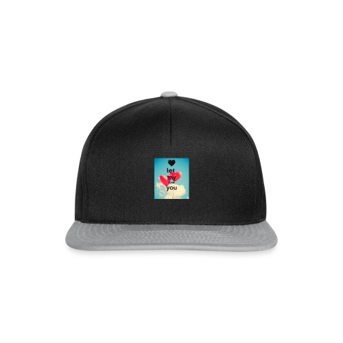 let my love you 1 - Snapback cap