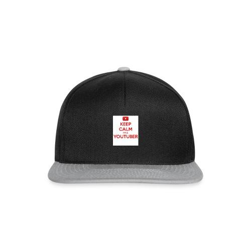 keep calm im a youtuber - Snapback cap