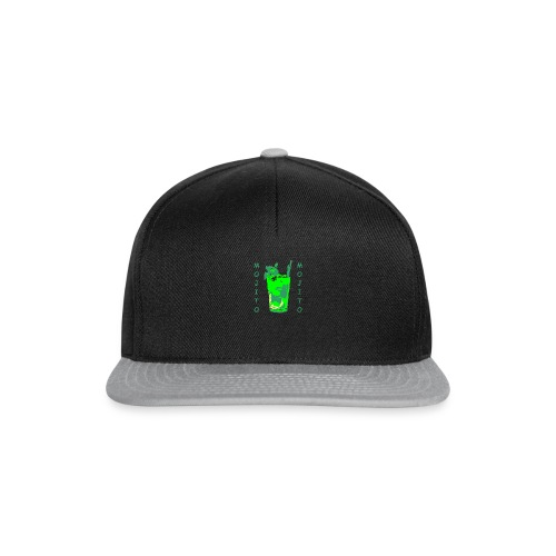 Mojito bicchiere colorato - Snapback Cap