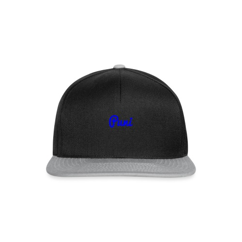 puni shirt Blauw - Snapback cap