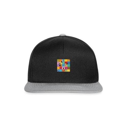 karriert - Snapback Cap