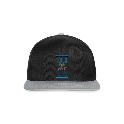 Doctor Who Bad Wolf - Snapback Cap