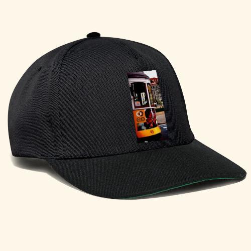 Scorcio tram colorato - Snapback Cap