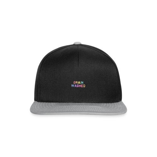 Brain Washed - Snapback Cap