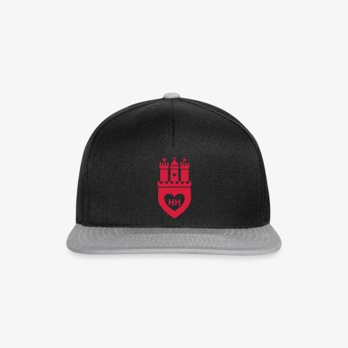 I Love Hamburg 1c - Snapback Cap