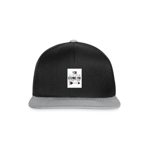 Yours Attitude Determines Your Direction - Snapback Cap