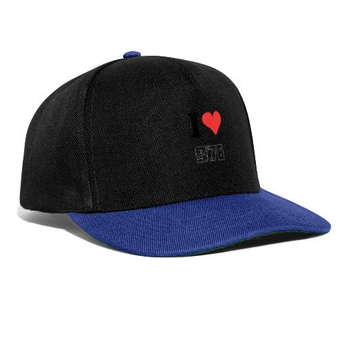 I LOVE MAYOTTE - Casquette snapback