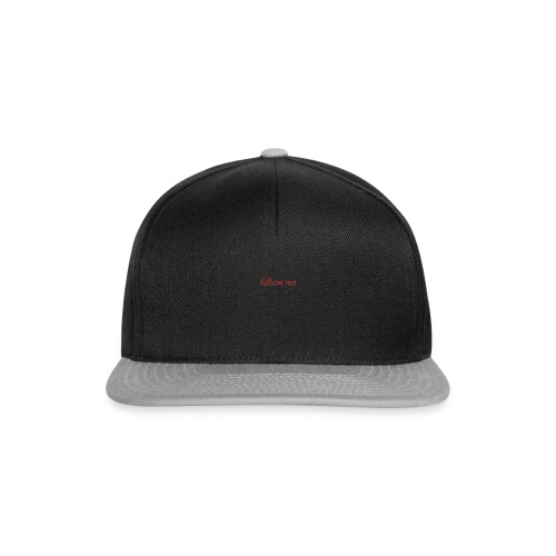 follow me - Snapback Cap