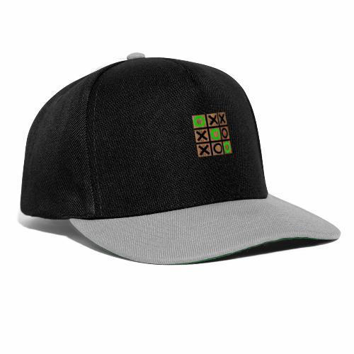 Tic Tac Toe - Wood Edition - Snapback Cap
