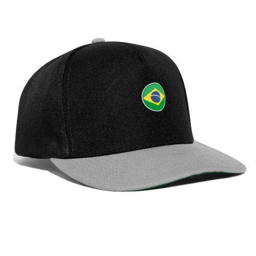Bandeira do brasil Encontro - Snapback Cap