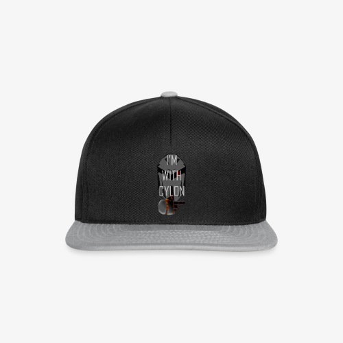 I'm with Cylon - Snapback-caps