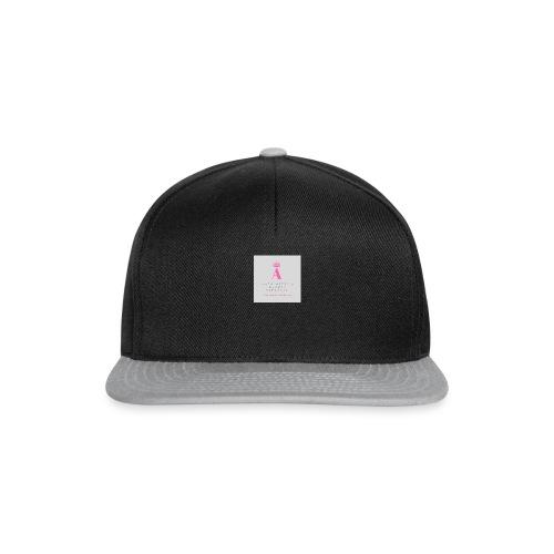 Antoinette's Luxury Cupcakes Grey Logo - Snapback Cap