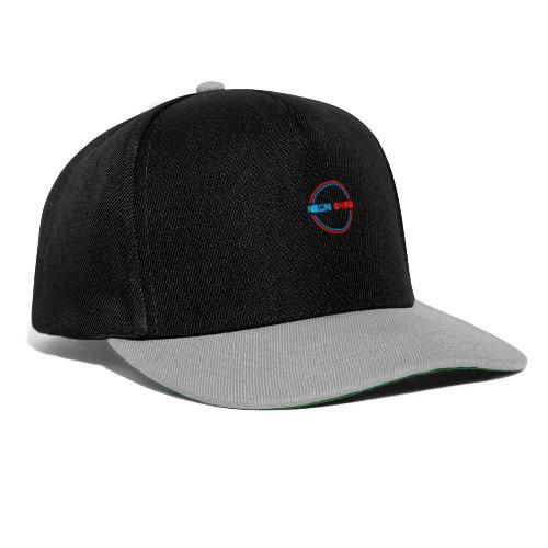 neonschrift rot - Snapback Cap
