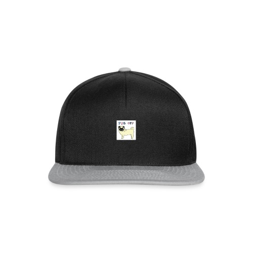 original pug shirt - Snapback Cap