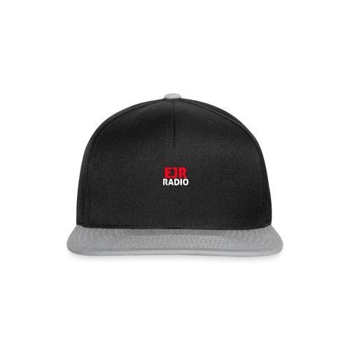 EJR_Words_Logo - Snapback Cap