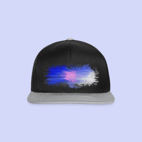 Blue lights - Female shirt - Snapback Cap