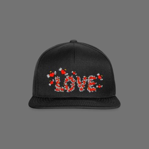 Latające miłości serc - Czapka typu snapback