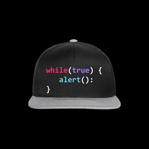 whilte(true) tee - Snapback Cap