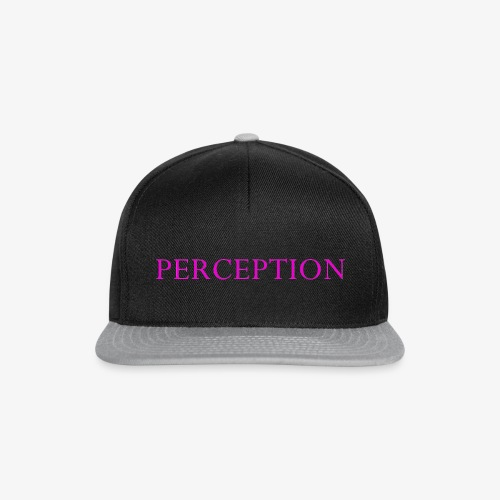 PERCEPTION CLOTHES ROSE - Casquette snapback