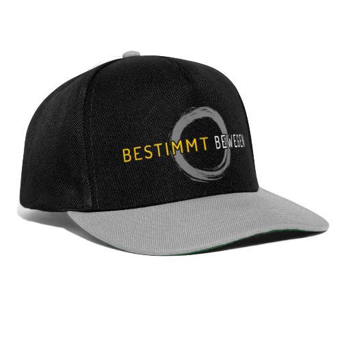bestimmt bewegen - Logo - Snapback Cap