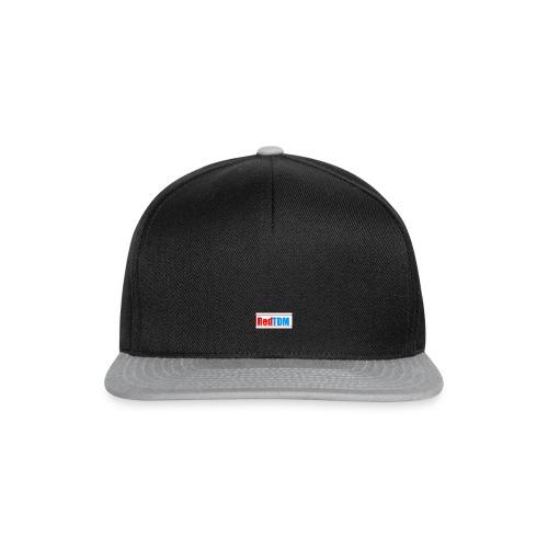 RedRed TDMBlue - Snapback Cap