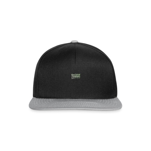 TGC Mens T-Shirt - Snapback Cap