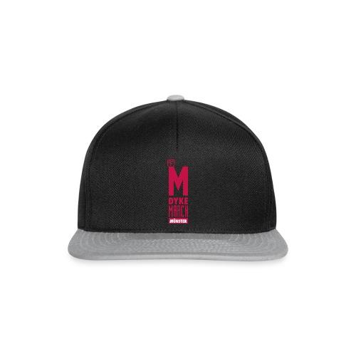 Dyke March Münster Logo rot - Snapback Cap