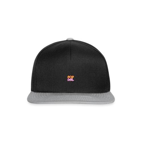 Pop Girl logo - Snapback Cap