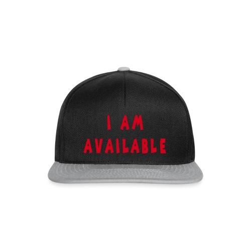 Am Available - Snapback Cap