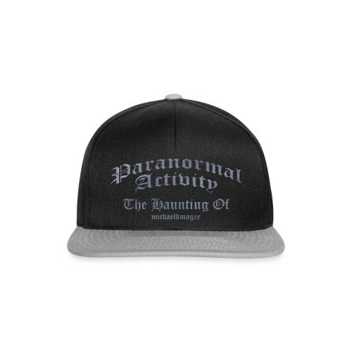 haunting of michaeldmagee png - Snapback Cap