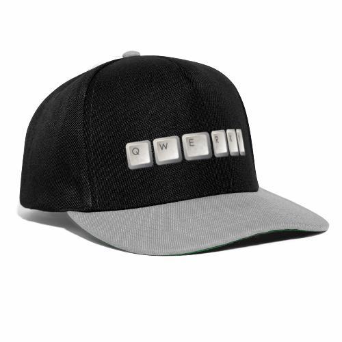 QWERKY - Snapback Cap