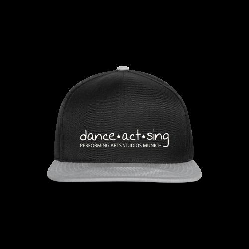Dance!Sing!Act! weiss - Snapback Cap
