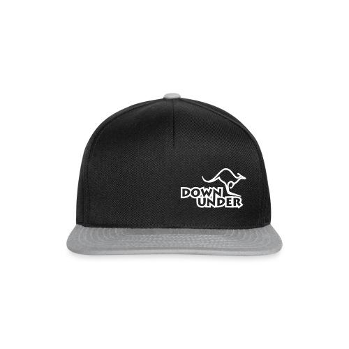 Down Under Single-Logo - Snapback Cap