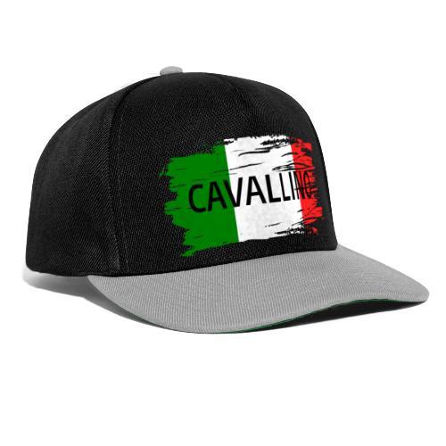 Cavallino auf Flagge - Snapback Cap