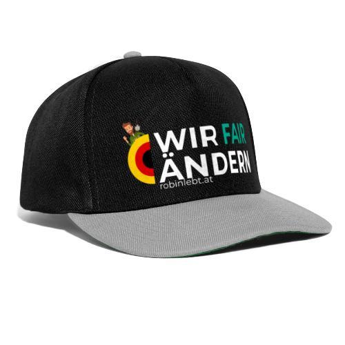Wir FairÄndern Deutschland (Flagge) - Snapback Cap