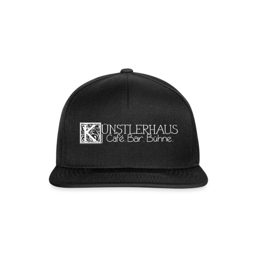 Kuenstlerhaus_Vektor1 - Snapback Cap