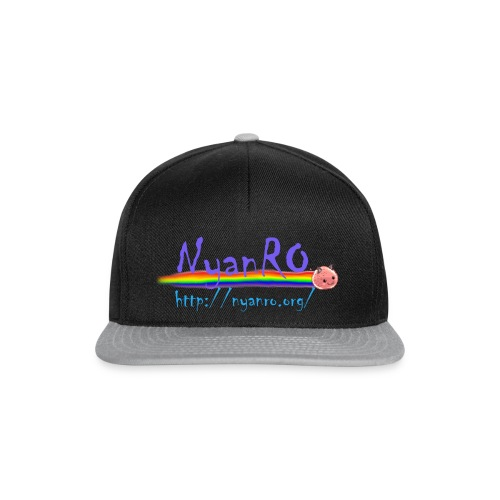 NyanRo Logo mit Hompageadresse - Snapback Cap