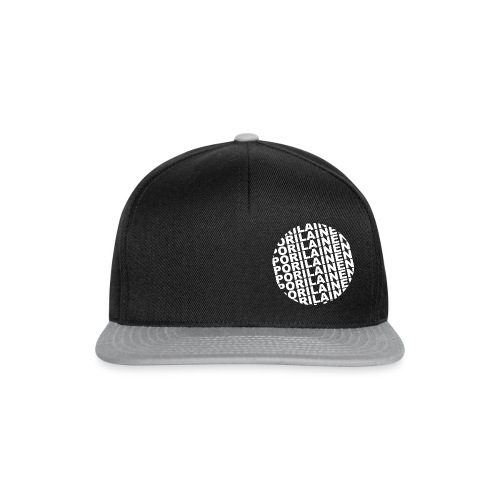 Black pori - Snapback Cap