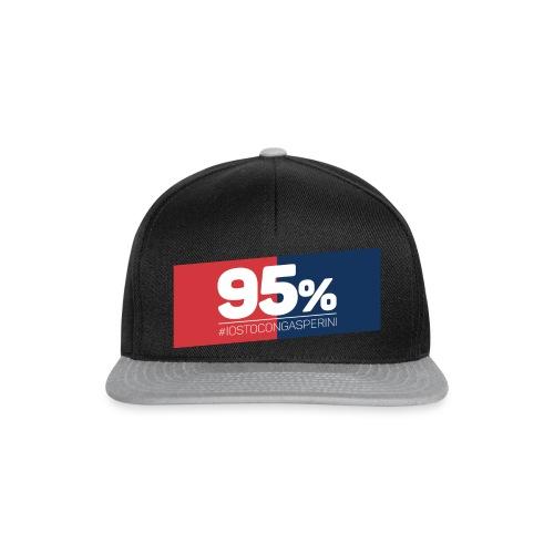 95% - Io sto con Gasperini - Snapback Cap