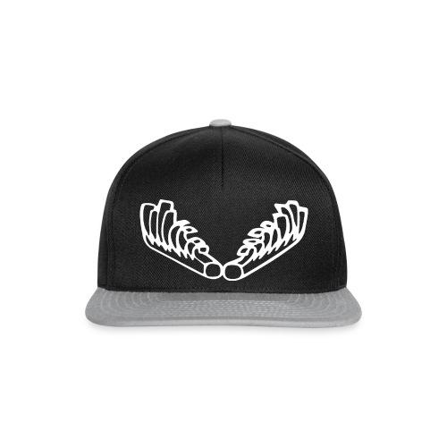 Kiehiset_logo_wit - Snapback Cap