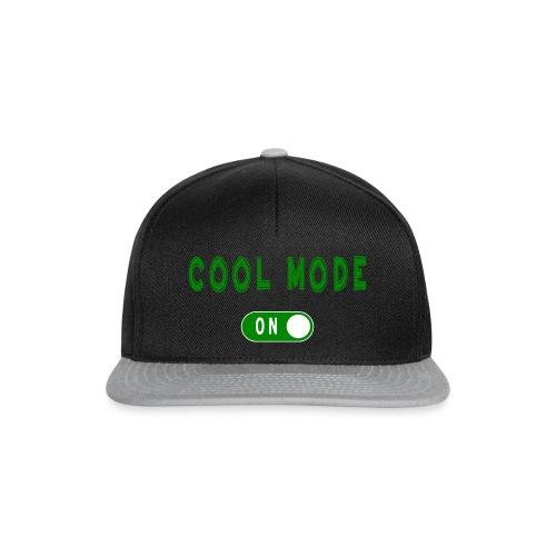 Cool Mode - Snapback Cap