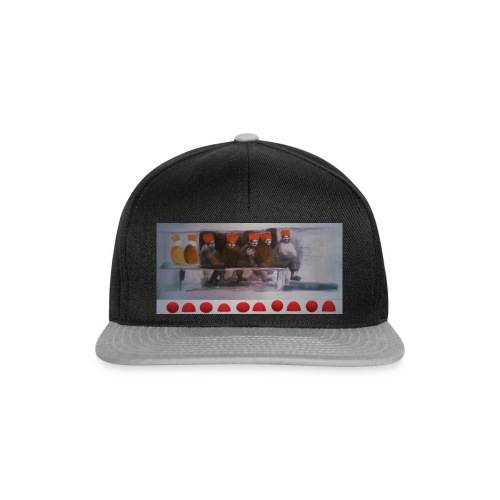 winter peple - Snapback Cap