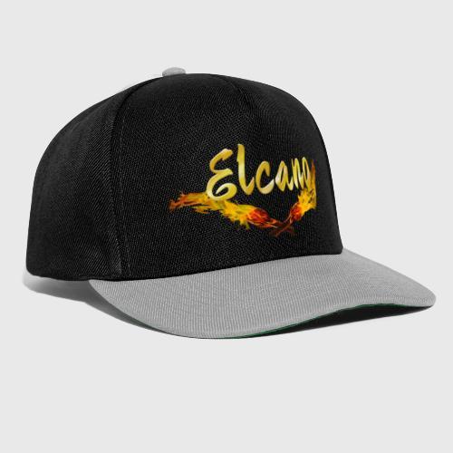 ELCANO Schriftzug mit Fackel - Snapback Cap