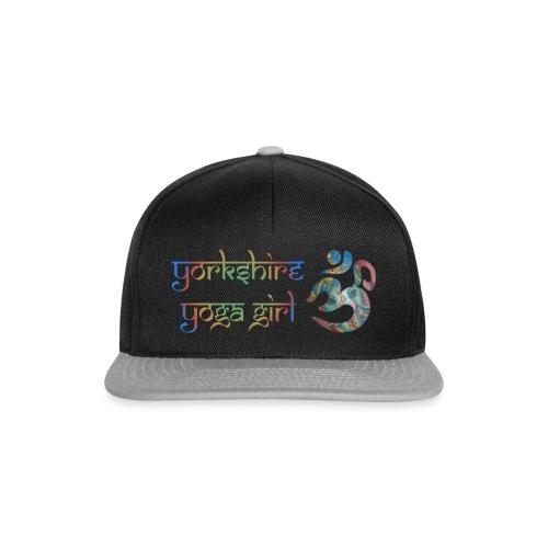 YYg Logo with Gradient - Snapback Cap