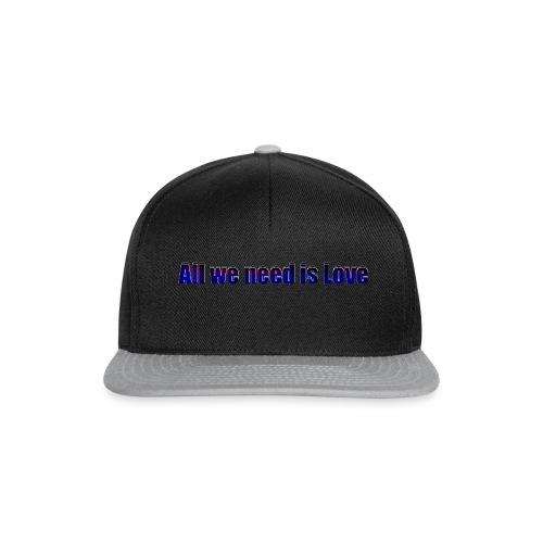 alles was wirbrauchen ist Liebe - Snapback Cap