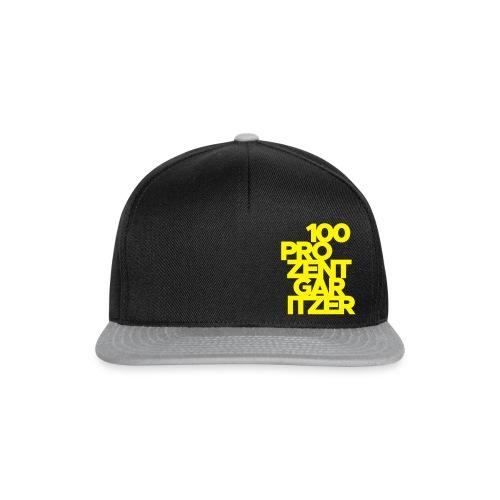 100 prozent garitzer prozent gelb - Snapback Cap