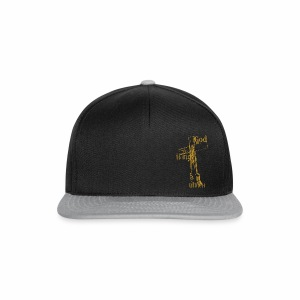 God is my witness gold - Snapback Cap